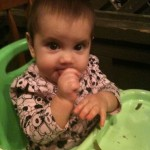 How I Introduced Solids to My Daughter via Baby-Led Weaning
