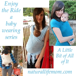 A Little Bit of All of It's Babywearing Series