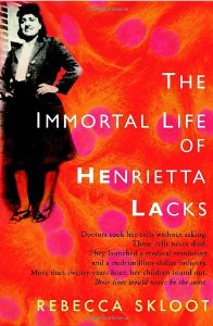 """Cover of """"The Immortal Life of Henrietta ..."""