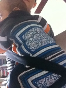 Dai Nyia Hmong Baby Carrier: A Little Bit of All of It